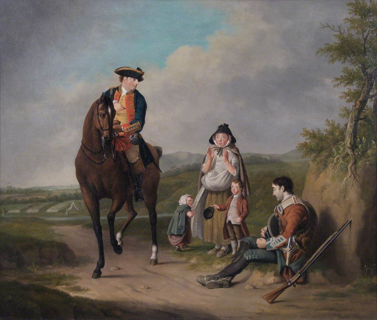The Marquis of Granby (Relieving A Sick Soldier)