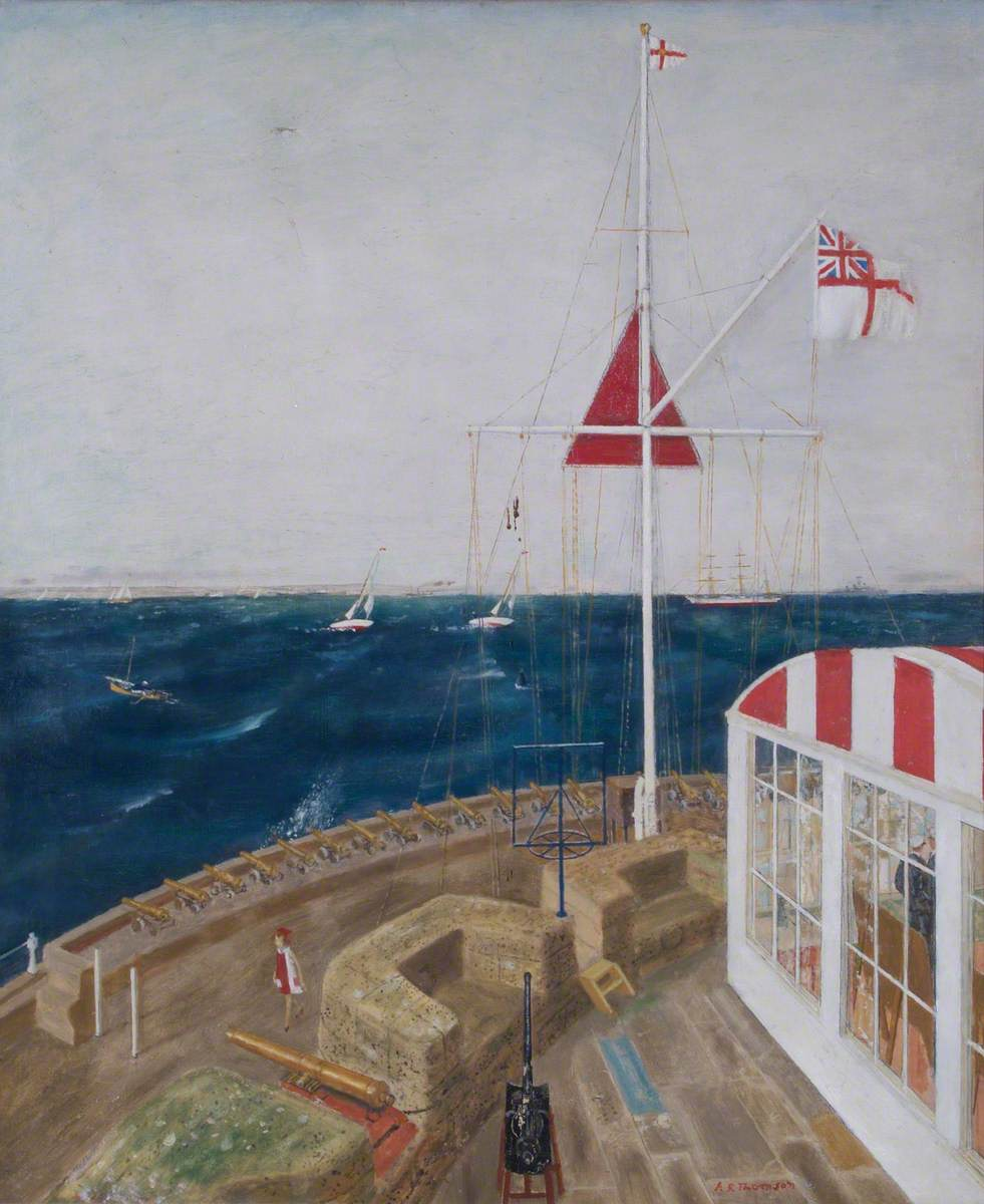 View from the Castle, Cowes
