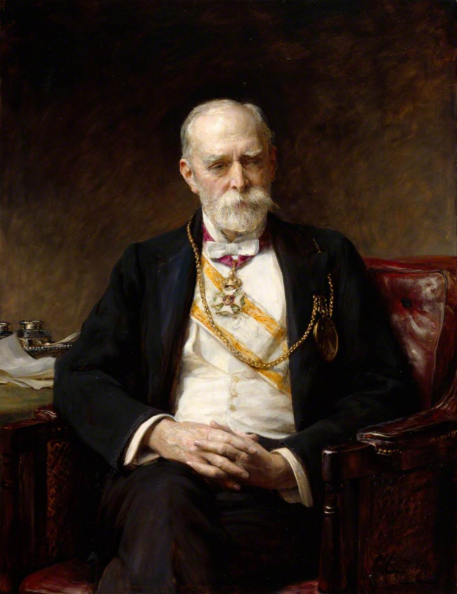 Sir Edward Poynter (1836–1919), President of the Royal Academy
