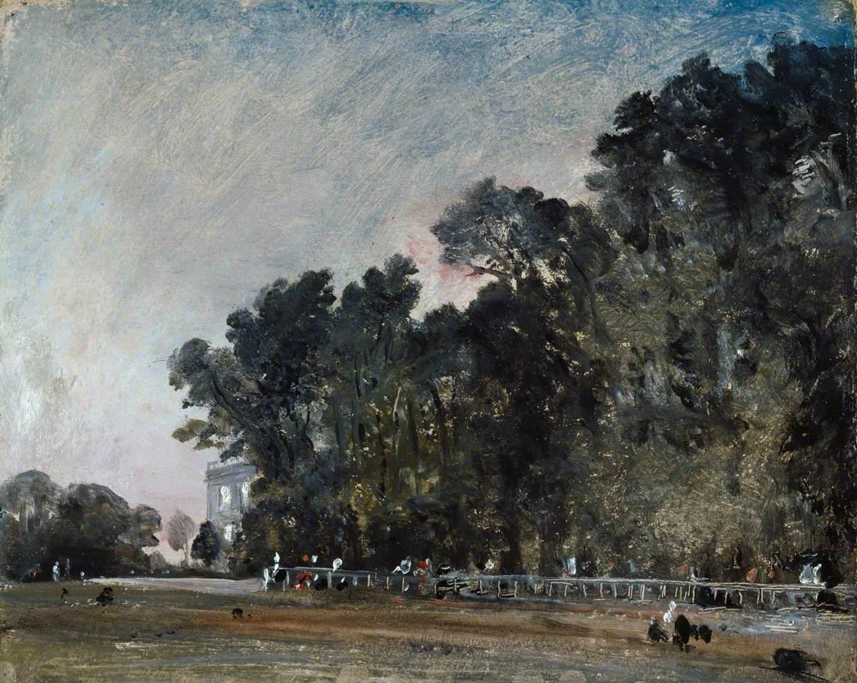Landscape Study: Scene in a Park