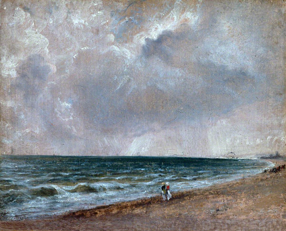 Seascape Study: Brighton Looking West