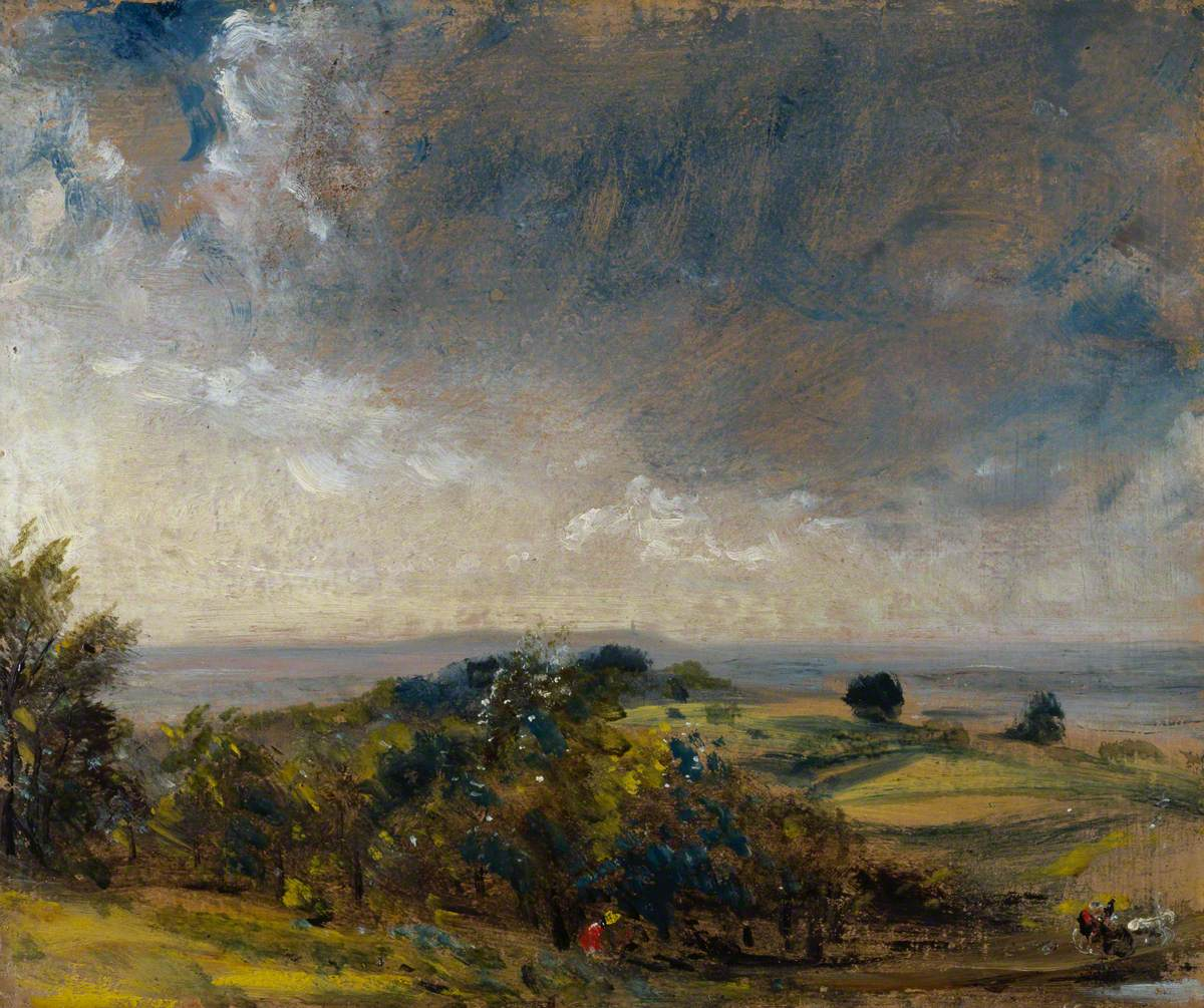 Hampstead Heath Looking West towards Harrow II
