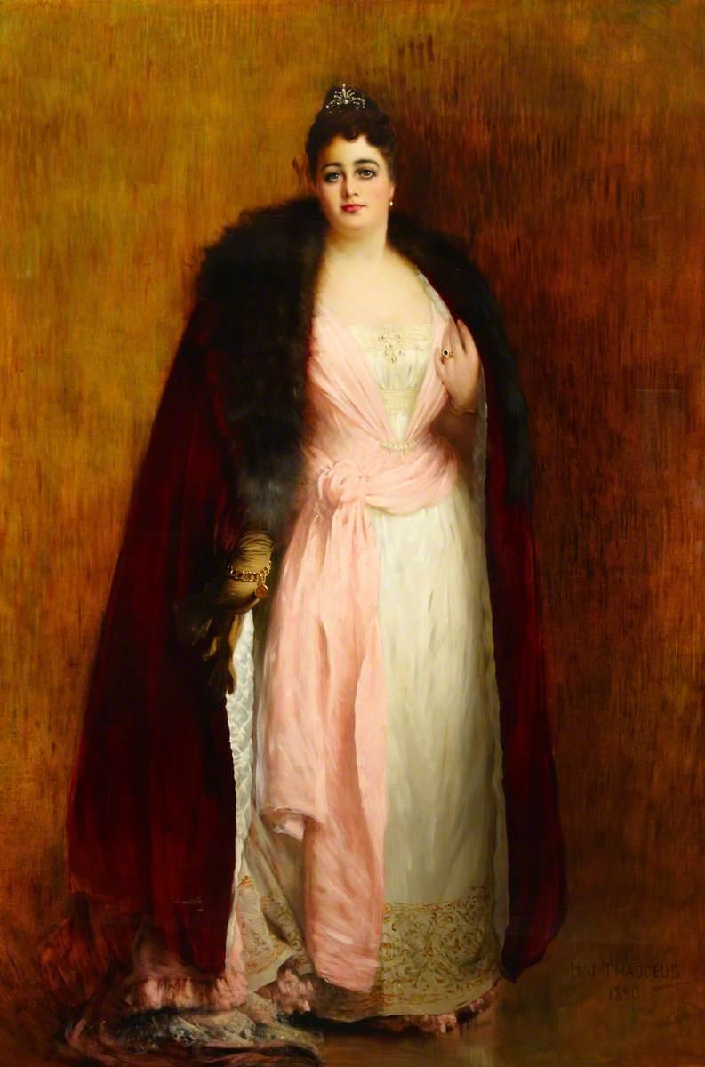Mrs Ada Lewis-Hill (1844–1906)