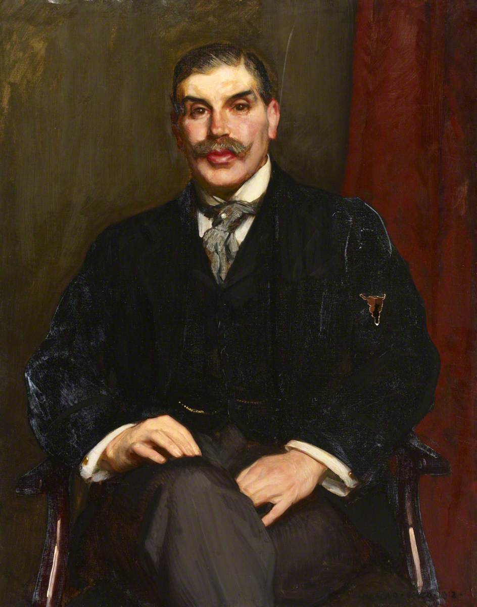 Captain H. M. Jessel, MP, Mayor of Westminster (1902–1903)