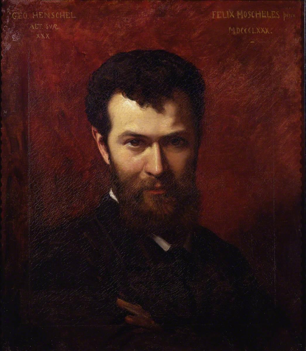 Sir George Henschel (1850–1934)