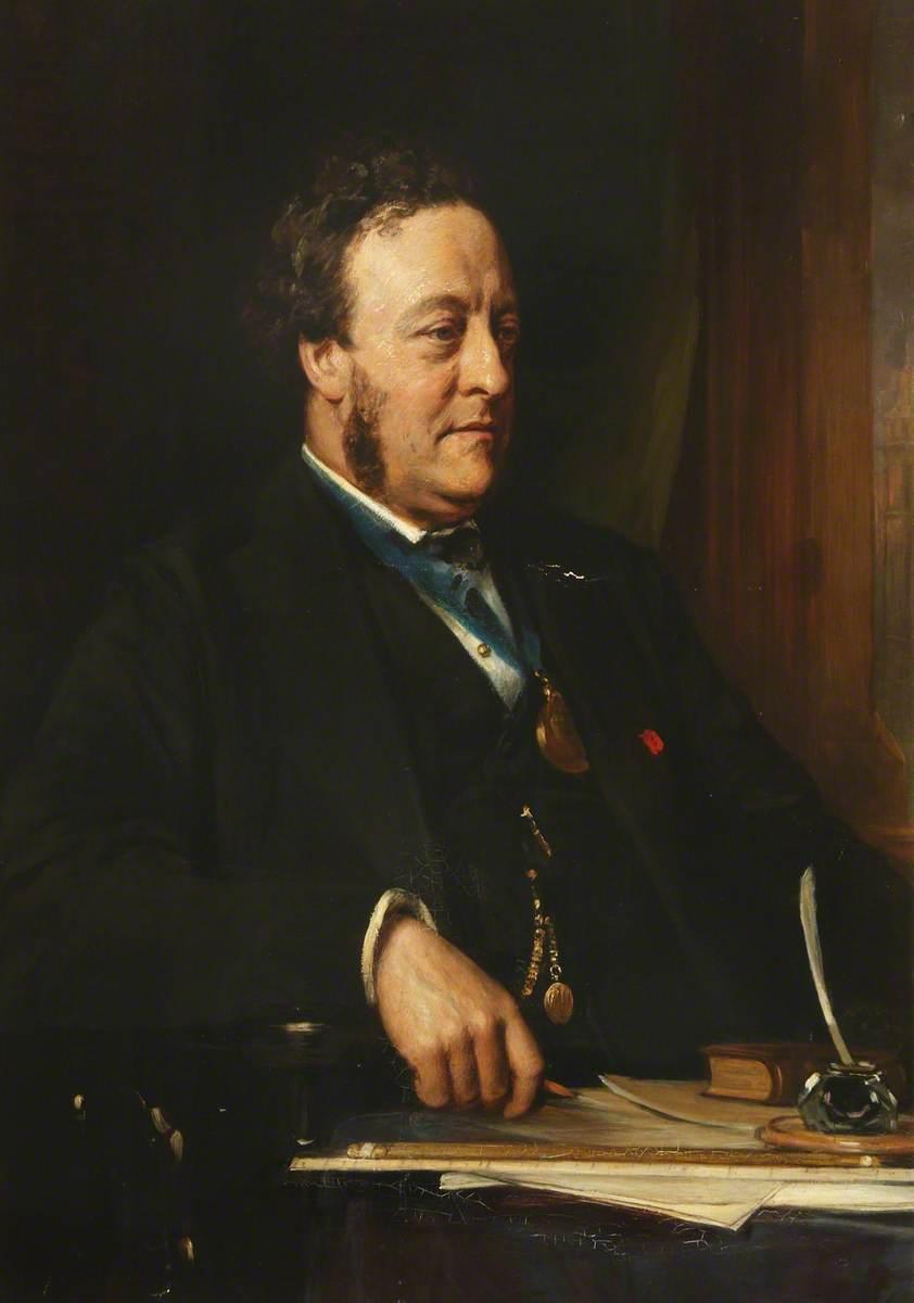 Charles Barry Junior (1823–1900), PRIBA