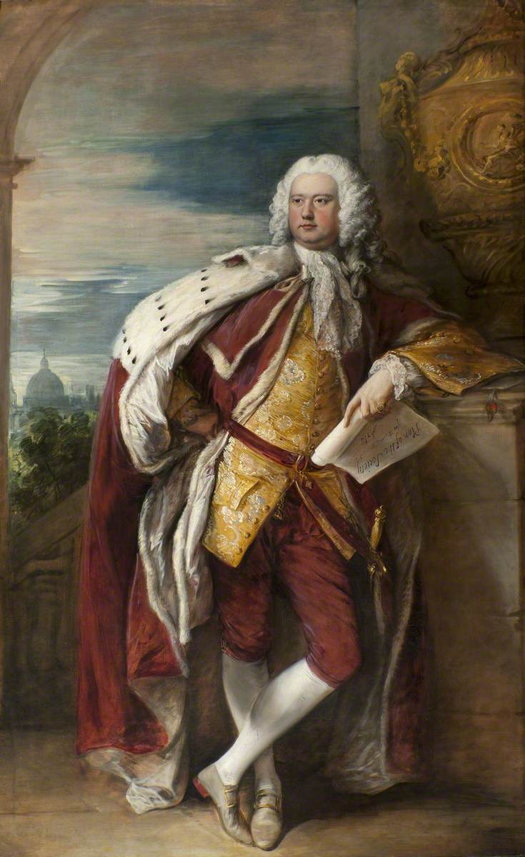 Jacob Bouverie (1694–1761), First Viscount Folkestone and First President of the Society of Arts