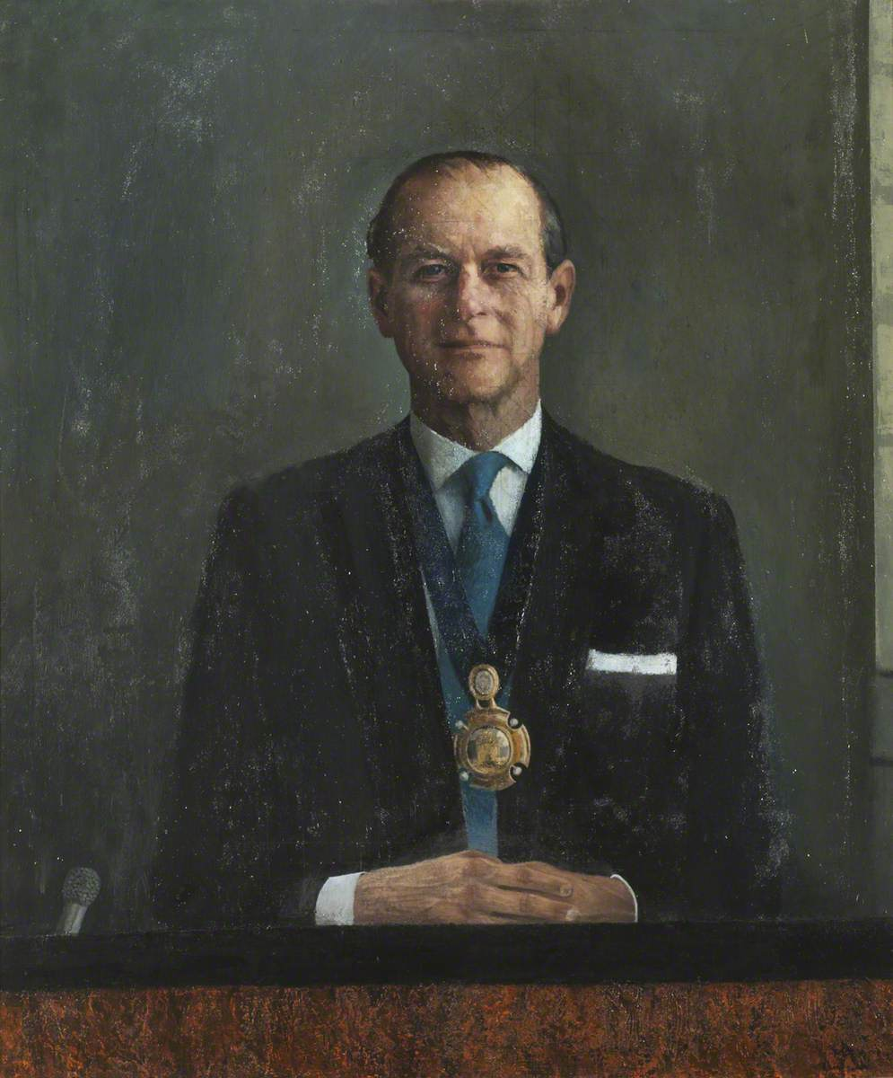 HRH Prince Philip (b.1921), Duke of Edinburgh, President of the Royal  Society for the Encouragement of Arts, Manufactures and Commerce | Art UK