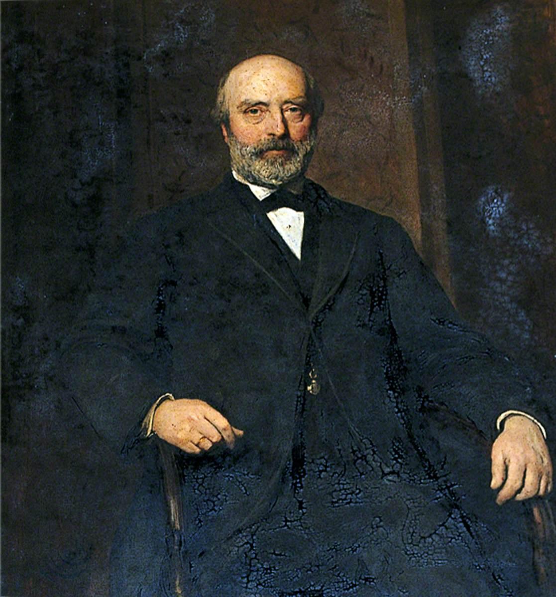 John D. Allcroft, Treasurer of Christ's Hospital (1873–1891)