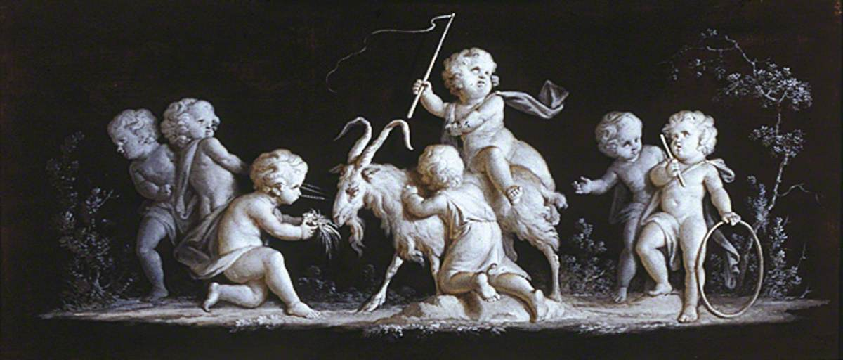 Triumphal Procession: Cupids and Goat