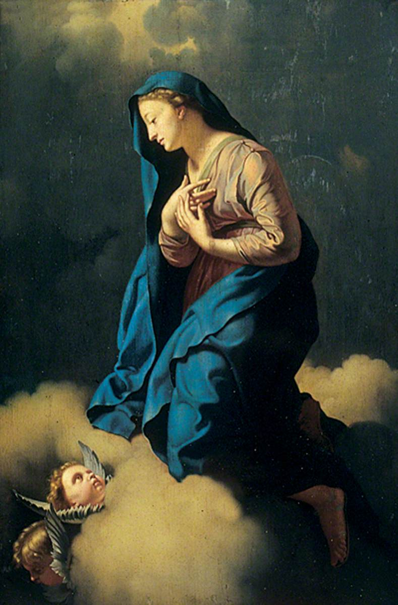 Mary Immaculata (Mary Annunciate Contemplating the Birth of Jesus)