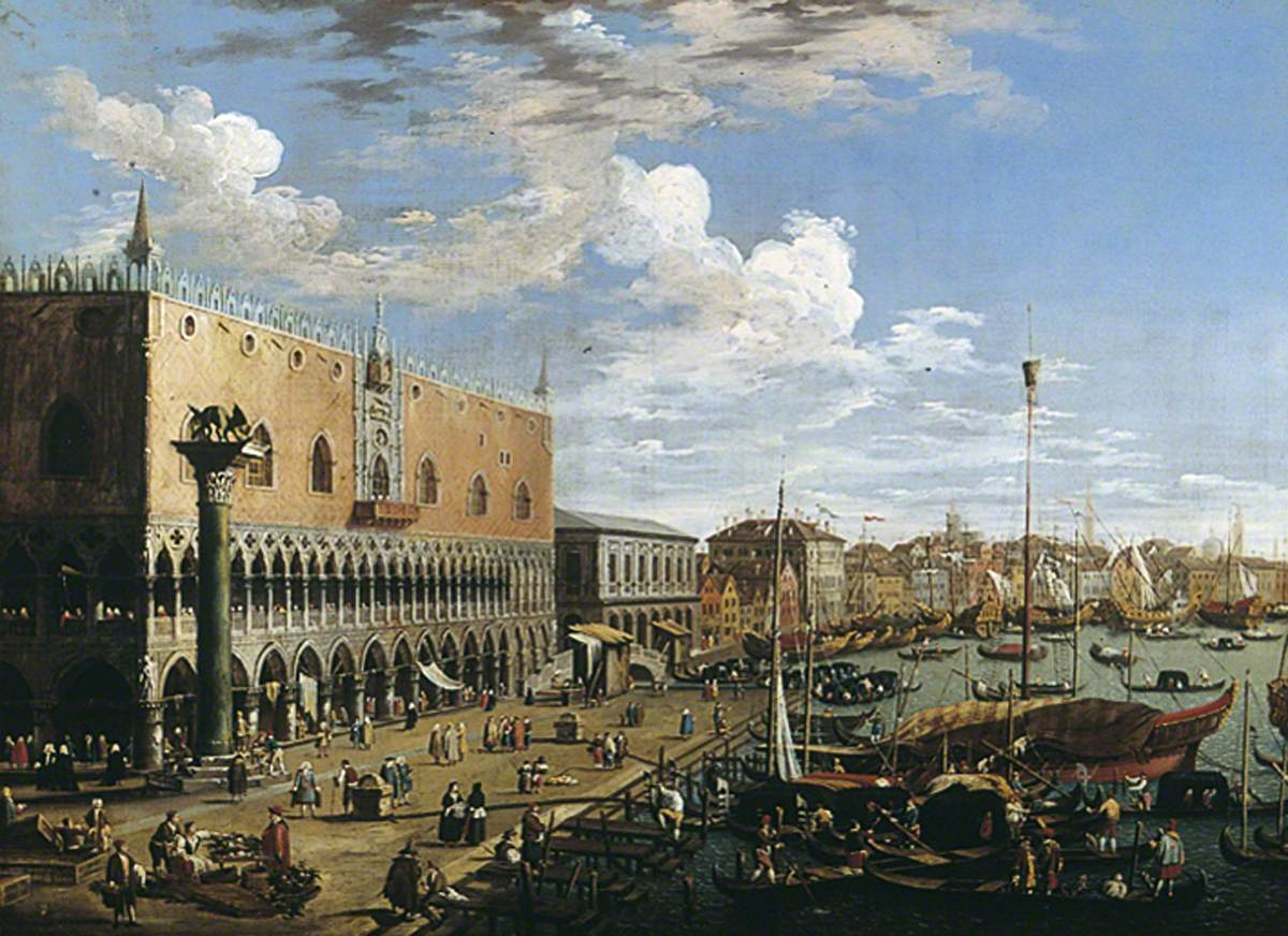 View of Venice, Doge's Palace