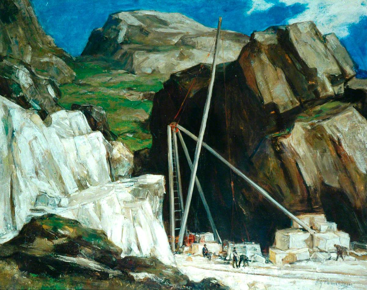 The Marble Quarry, Iona