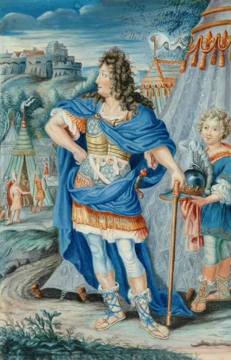Louis XIV as a Roman Emperor