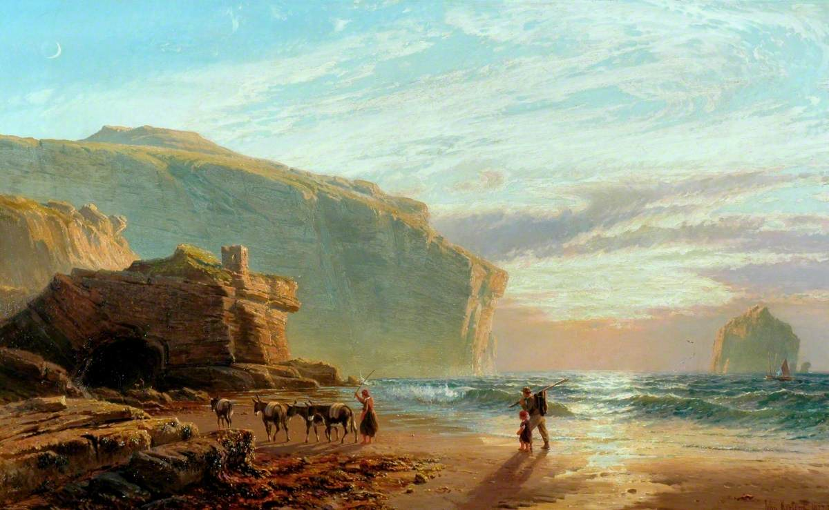 Off the Cornish Coast (Trebarwith Strand)