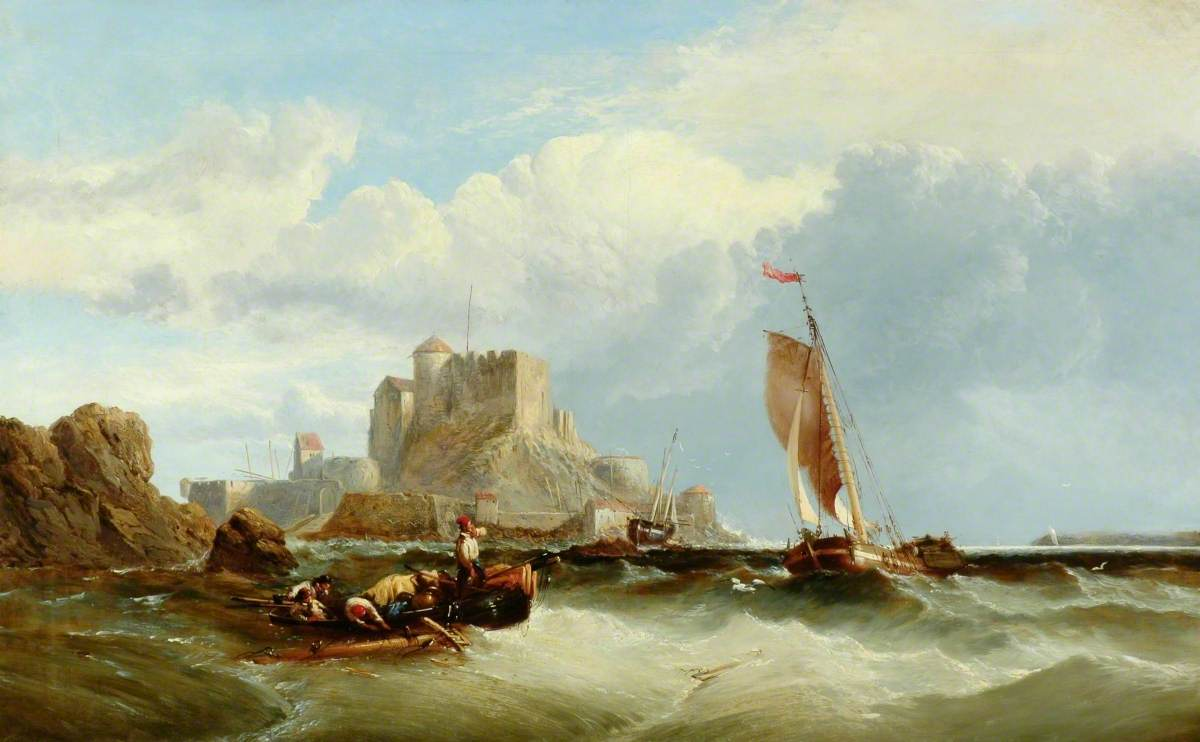 Boats off the French Coast
