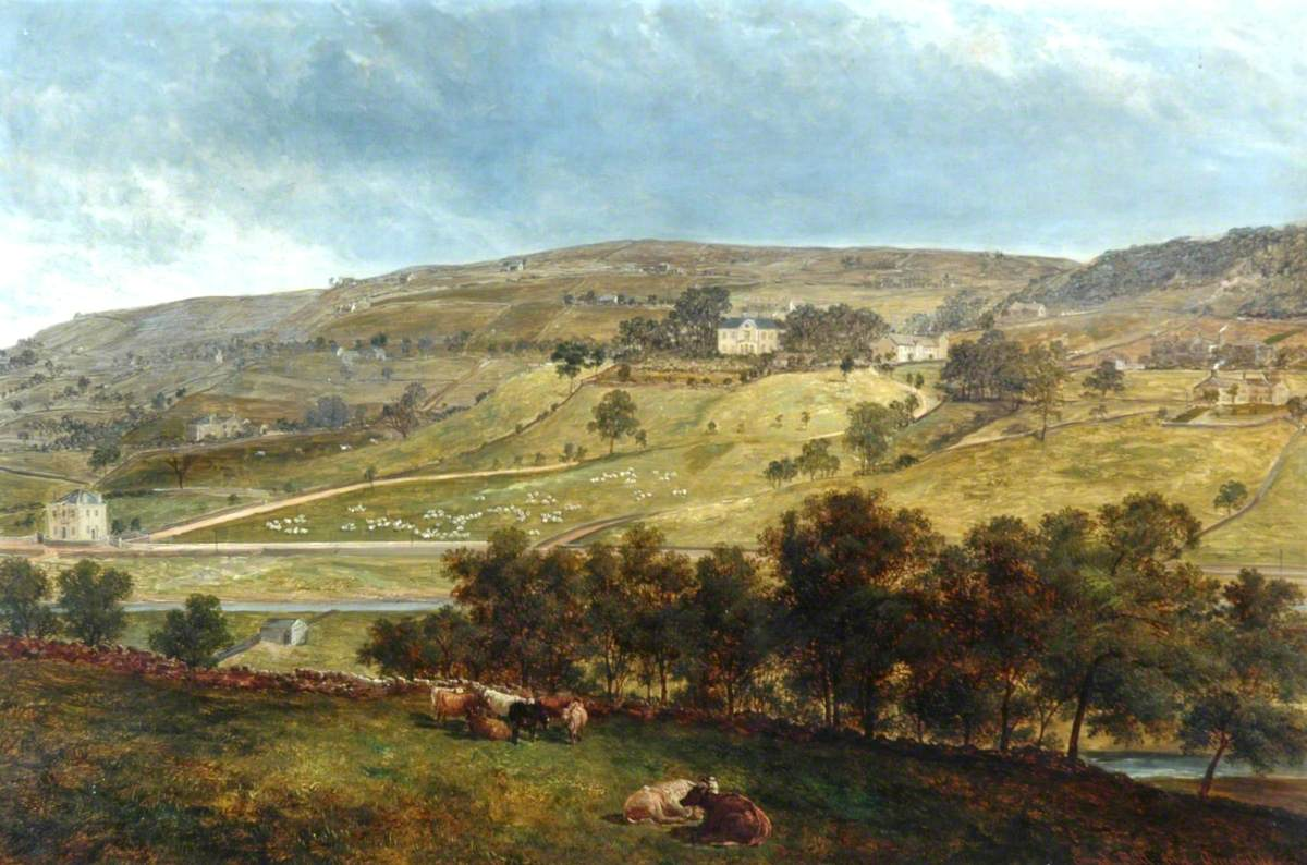 Ewood Hall from Greenfields