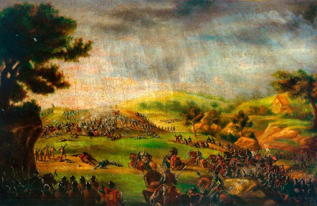 The Battle of Poitiers, 19 September 1356