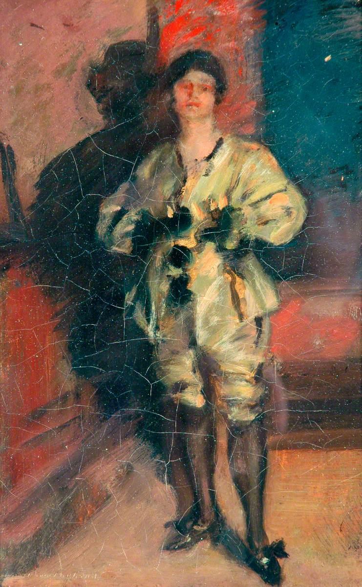 Standing Costumed Figure