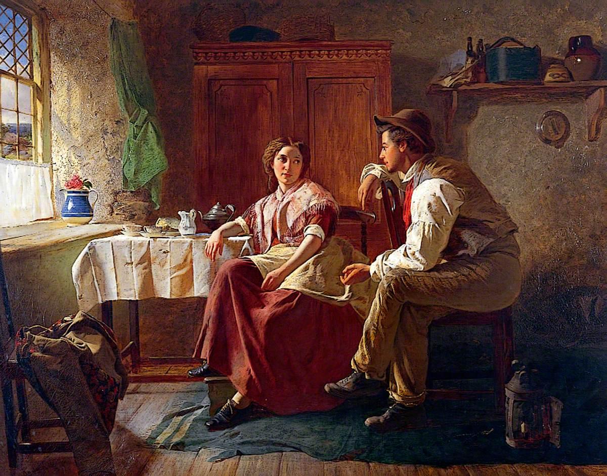 Rustic Courtship