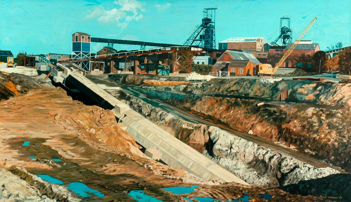 Shireoaks Colliery
