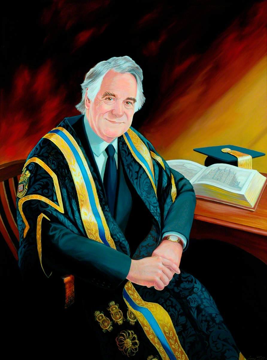 Professor John R. Tarrant, Vice-Chancellor of the University of Huddersfield