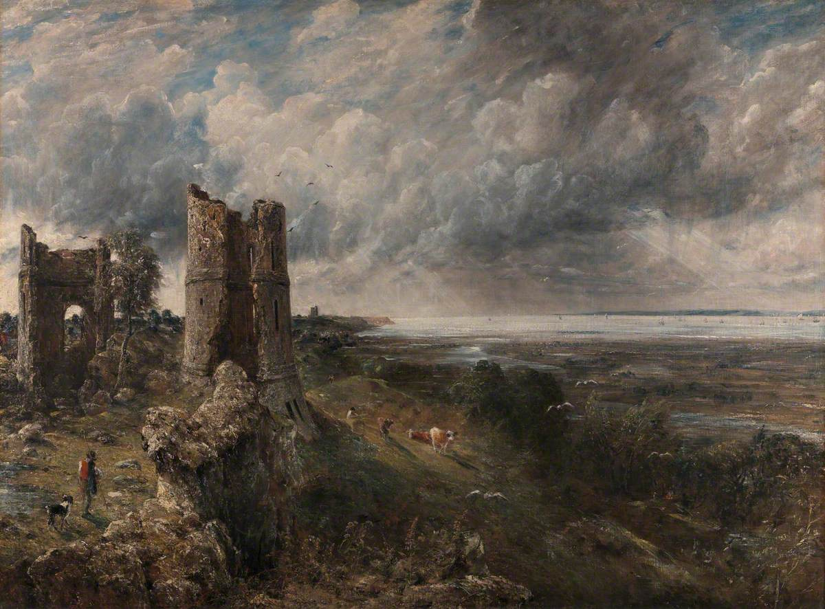 Hadleigh Castle, The Mouth of the Thames – Morning after a Stormy Night