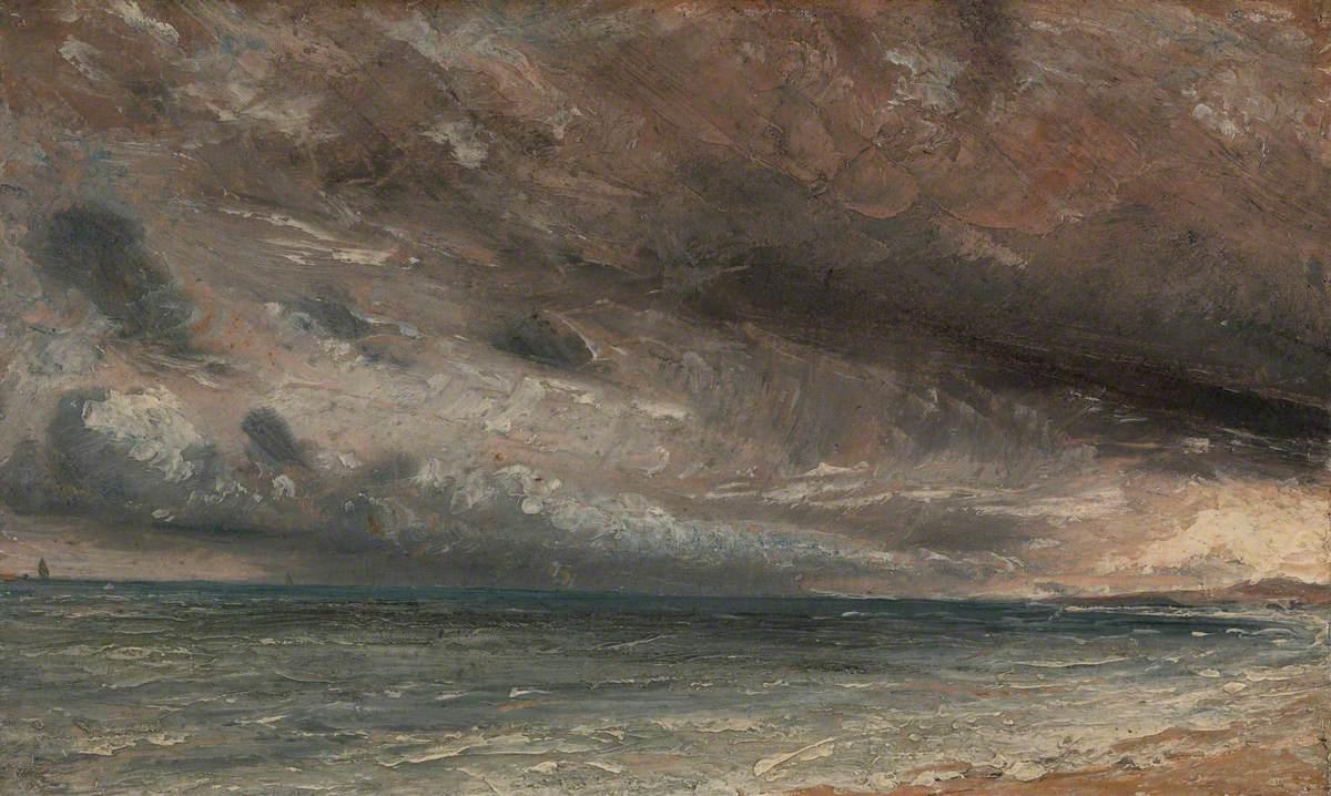 Stormy Sea, Brighton