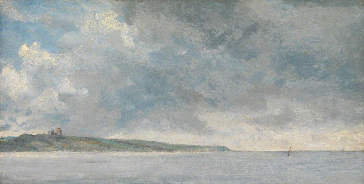 Coastal Scene with Cliffs