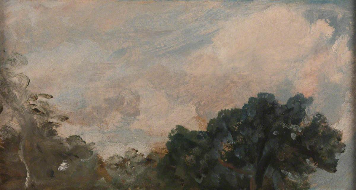 Cloud Study with Trees