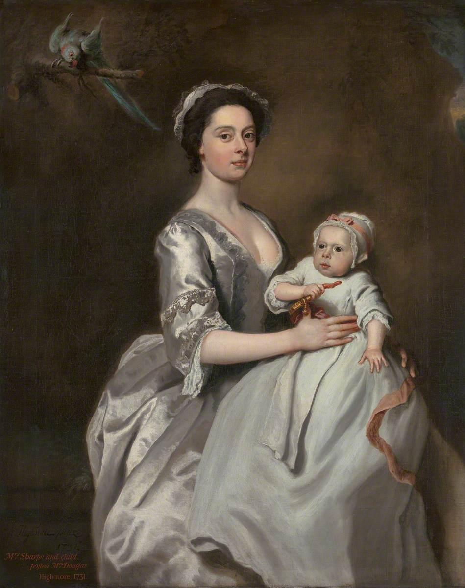 Mrs Sharpe and Her Child