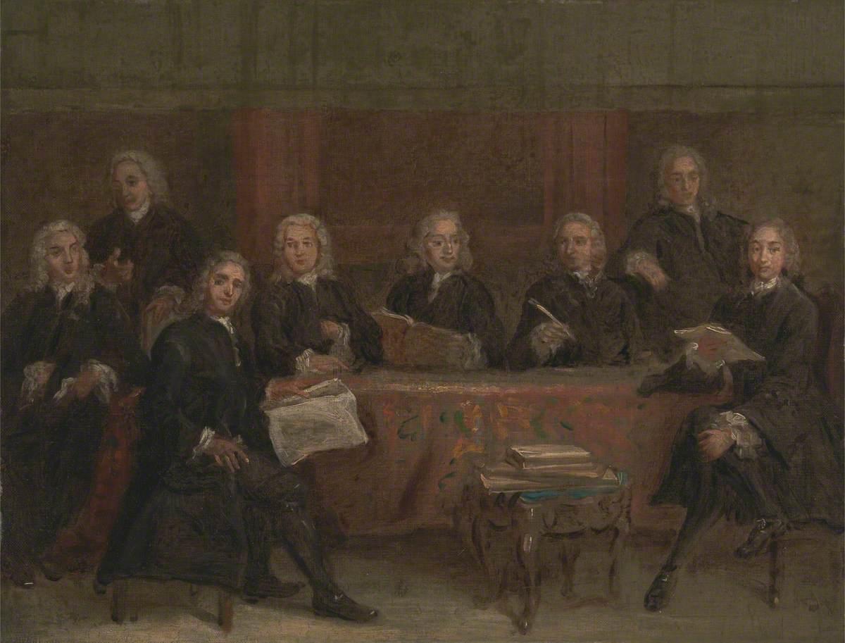 Study for a Group Portrait