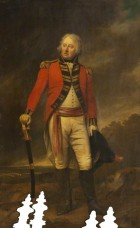 Colonel Thomas Stanley MP, of the 1st Royal Lancashire Militia