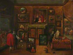 The Interior of a Picture Gallery