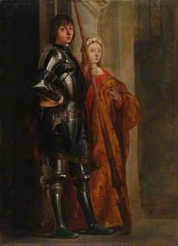 Saints George and Cecilia