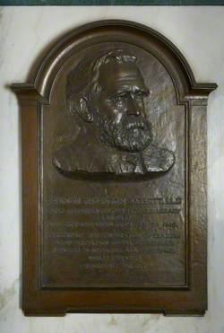 Memorial Tablet to Francis Thornton Barrett (1838–1919)