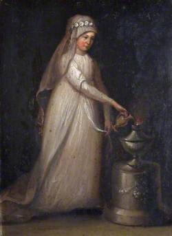 Portrait of a Woman as a Vestal Virgin