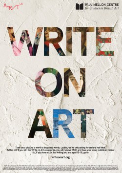 Write on Art poster