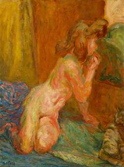 Nude in the Firelight