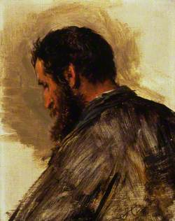 Sketch of a Man's Head (James Black)