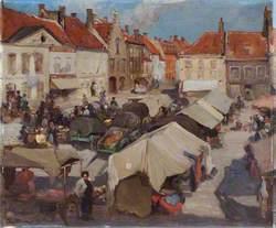 Eastern Market Scene
