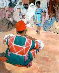 Acrobats, Marrakesh, Morocco