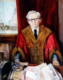 James A. Lamond, Lord Provost of Aberdeen (1970–1971)
