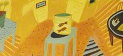 Yellow Still Life No. 1 with a Goldfish