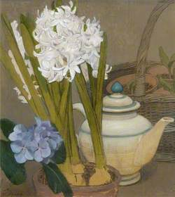 Hyacinth and Basket