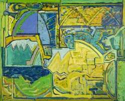 Untitled Yellow/Green/Blue