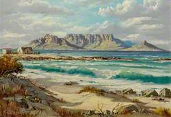 Table Mountain with Cape Town at Its Foot