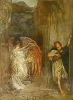 Orpheus Leaving Eurydice