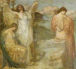 Orpheus: Bacchantes on the Shore