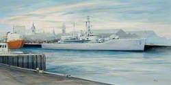 HMS 'Scylla'